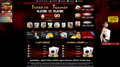 Diproteksi: Jadwalqq – Agen Poker Online Agen Domino Online Terpercaya